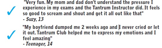 What teens say about Tantrum Club